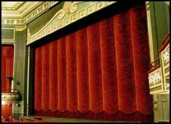 broadhurst theatre new york drapery austrian curtains fabric sewing