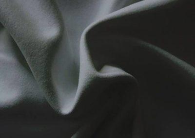 slate gray pipe and drape fabric