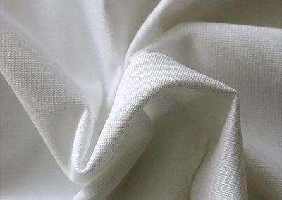silver pipe and drape fabric