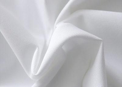 White pipe and drape fabric