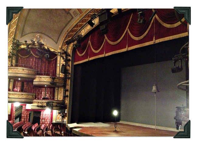 Richard Rodgers Theatre drapery