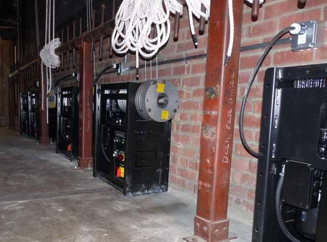 cornell automation winch rigging