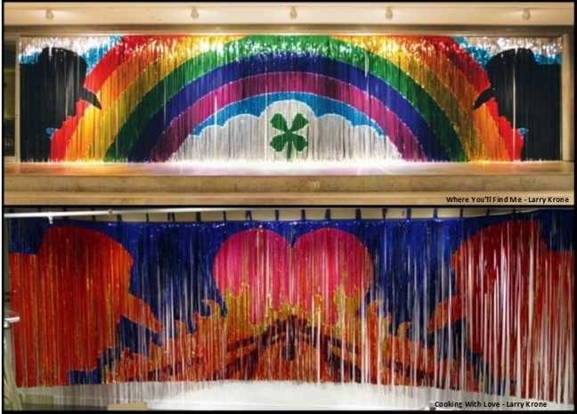 Mylar Rain Curtains