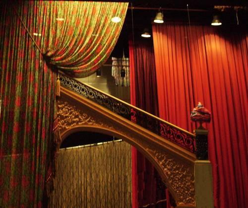 phantom of the opera drapery fabric curtains sewing