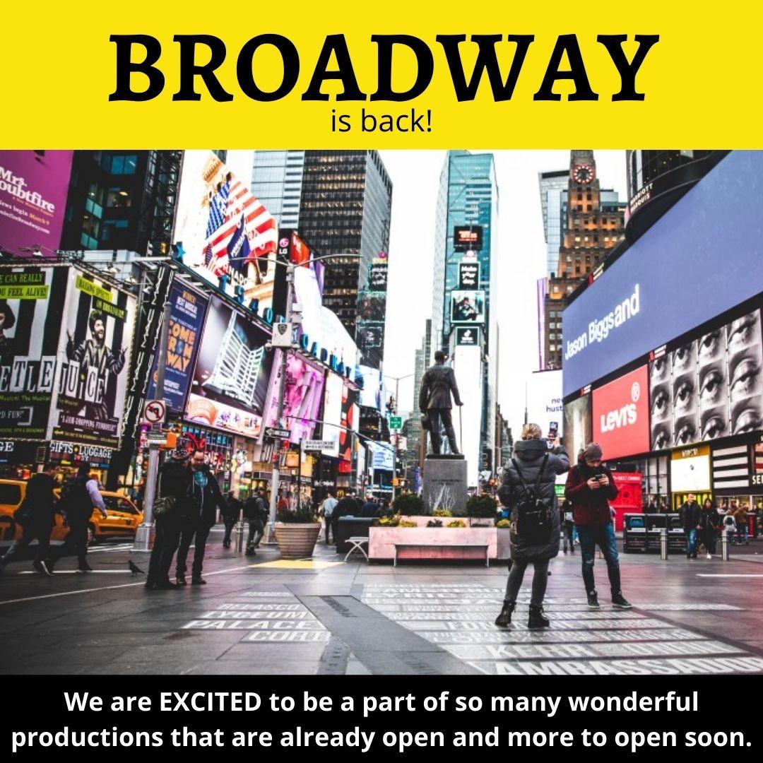 Broadway is Back